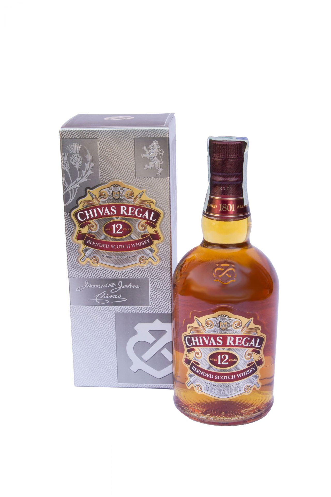 Blended Scotch Whisky 12 years old – Chivas Regal