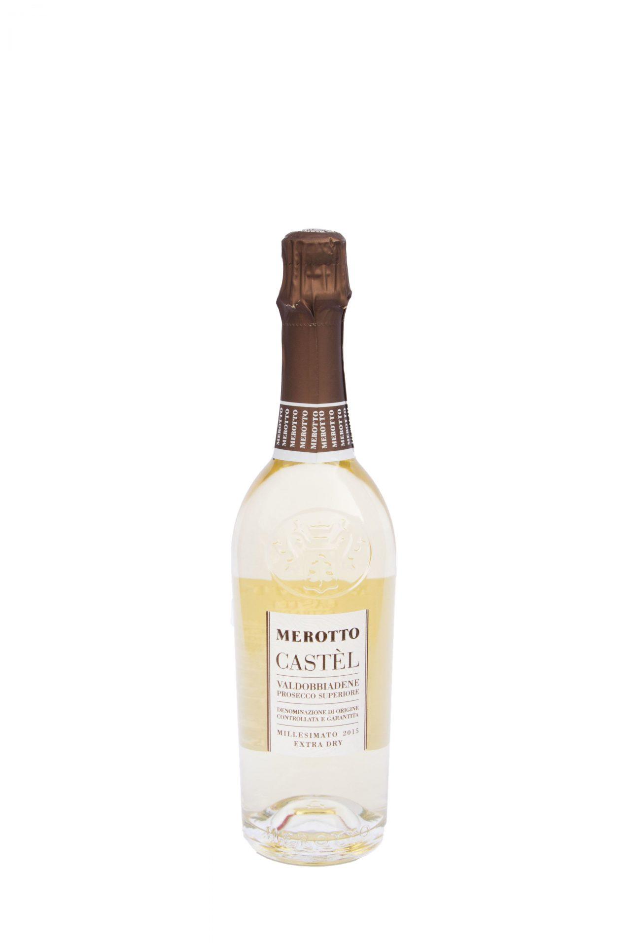 """Merotto – Valdobbiadene Prosecco Superiore Millesimato 2015 Extra Dry """"Castèl"""""""