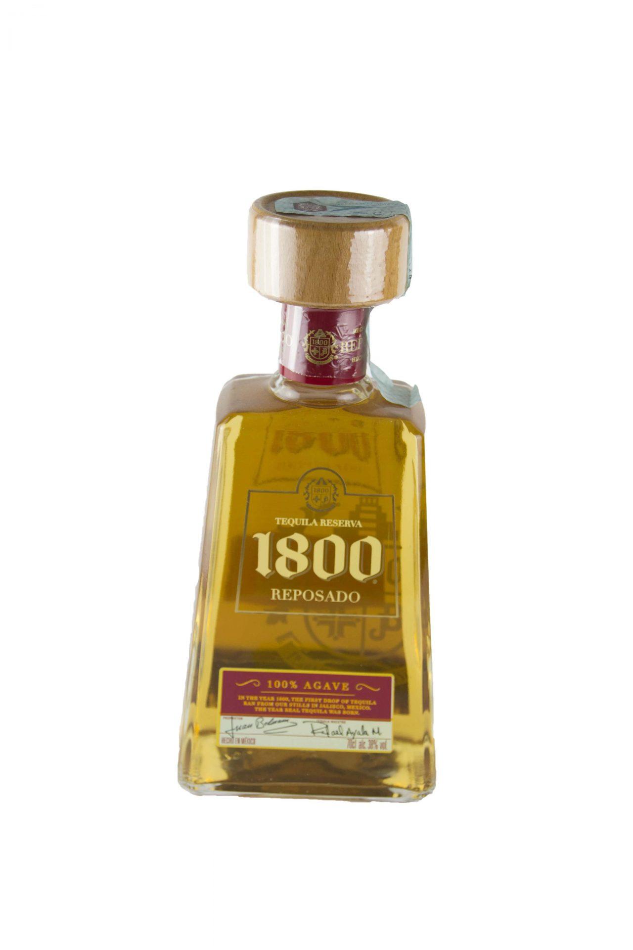 Tequila Reserva 1800 – Reposando