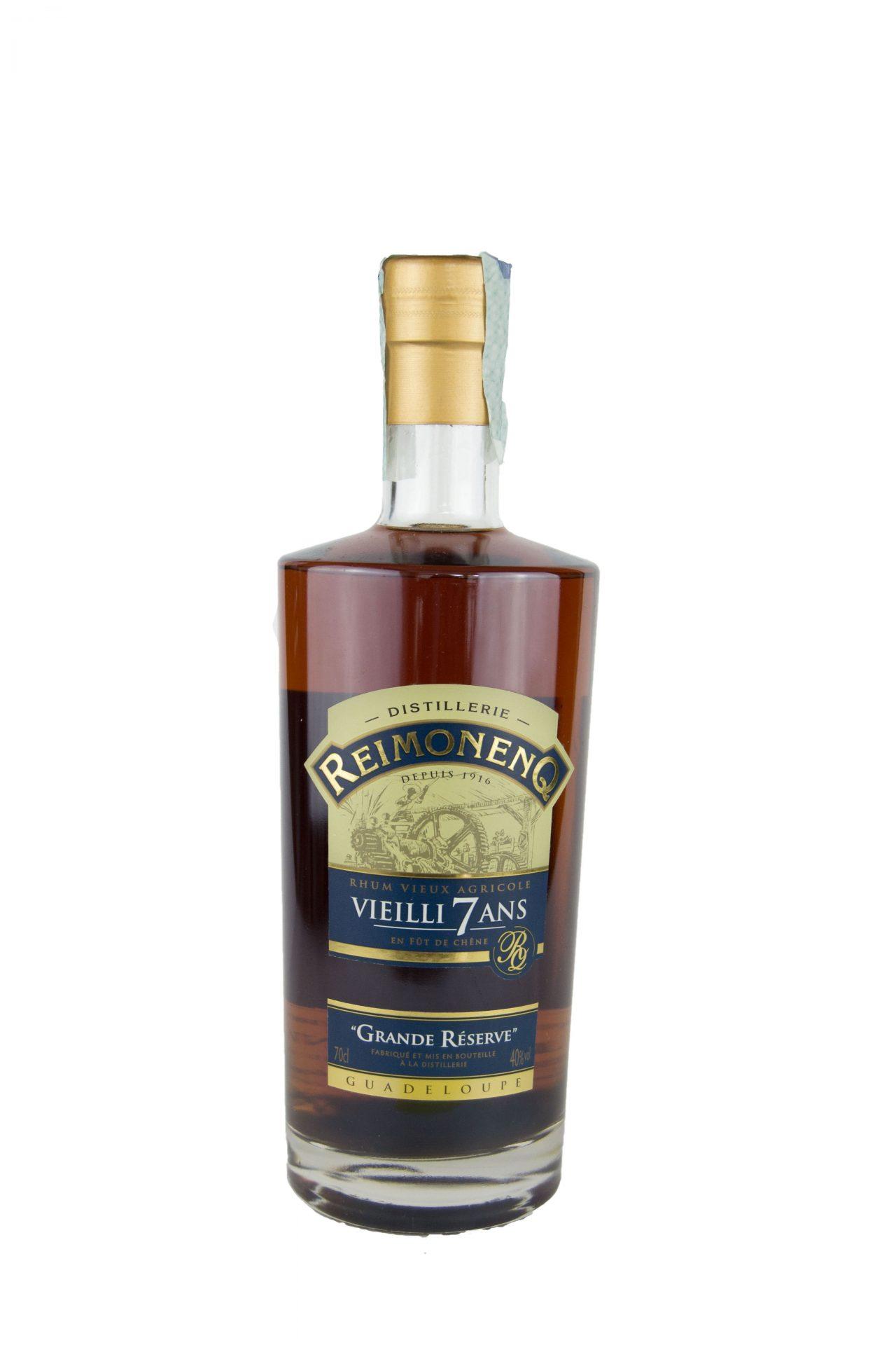 """Distillerie Reimonenq – Rhum Vieux Agricole Vielli 7Ans """"Grande Réserve"""""""