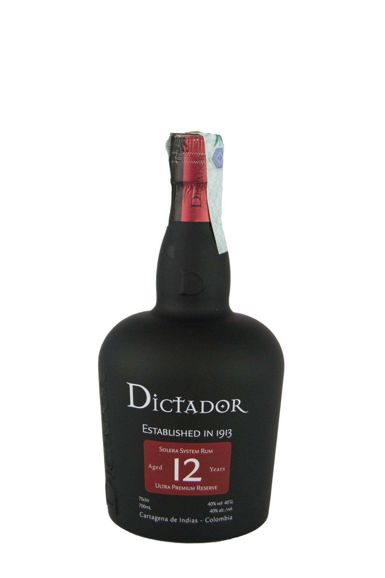Dictador – Solera System Rum 12 Anni