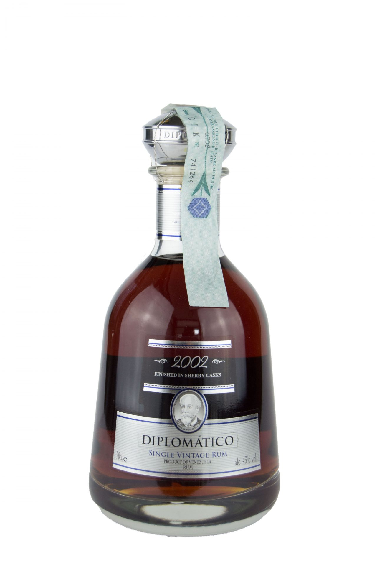 "Diplomàtico – Single Vintage Rum"" 2002"""