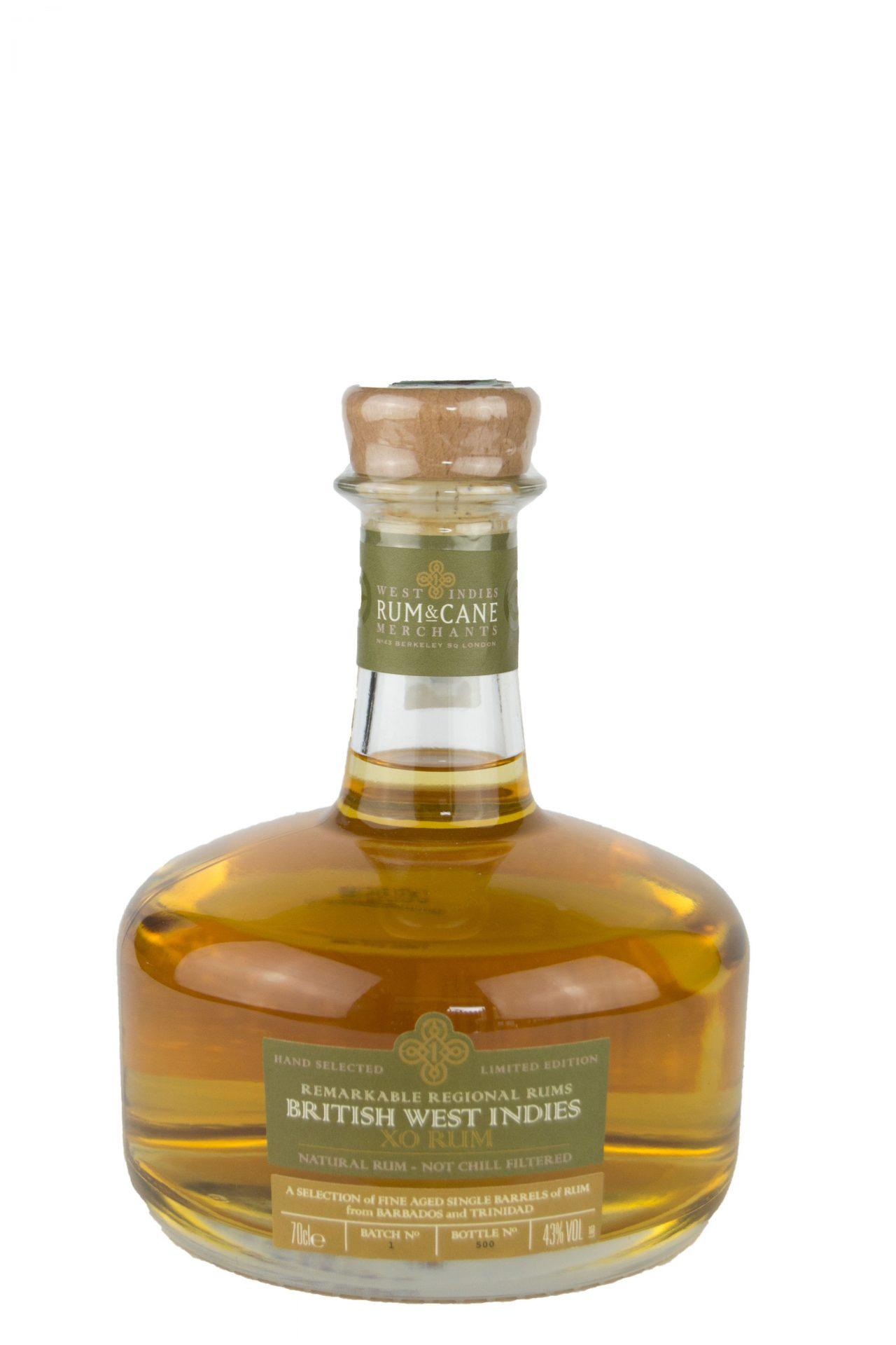 "Rum & Cane – British West Indies ""XO Rum"" Limited Edition"