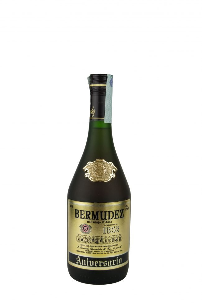 "Bermudez - Ron Anejo ""Aniversario"" 12 Anni"