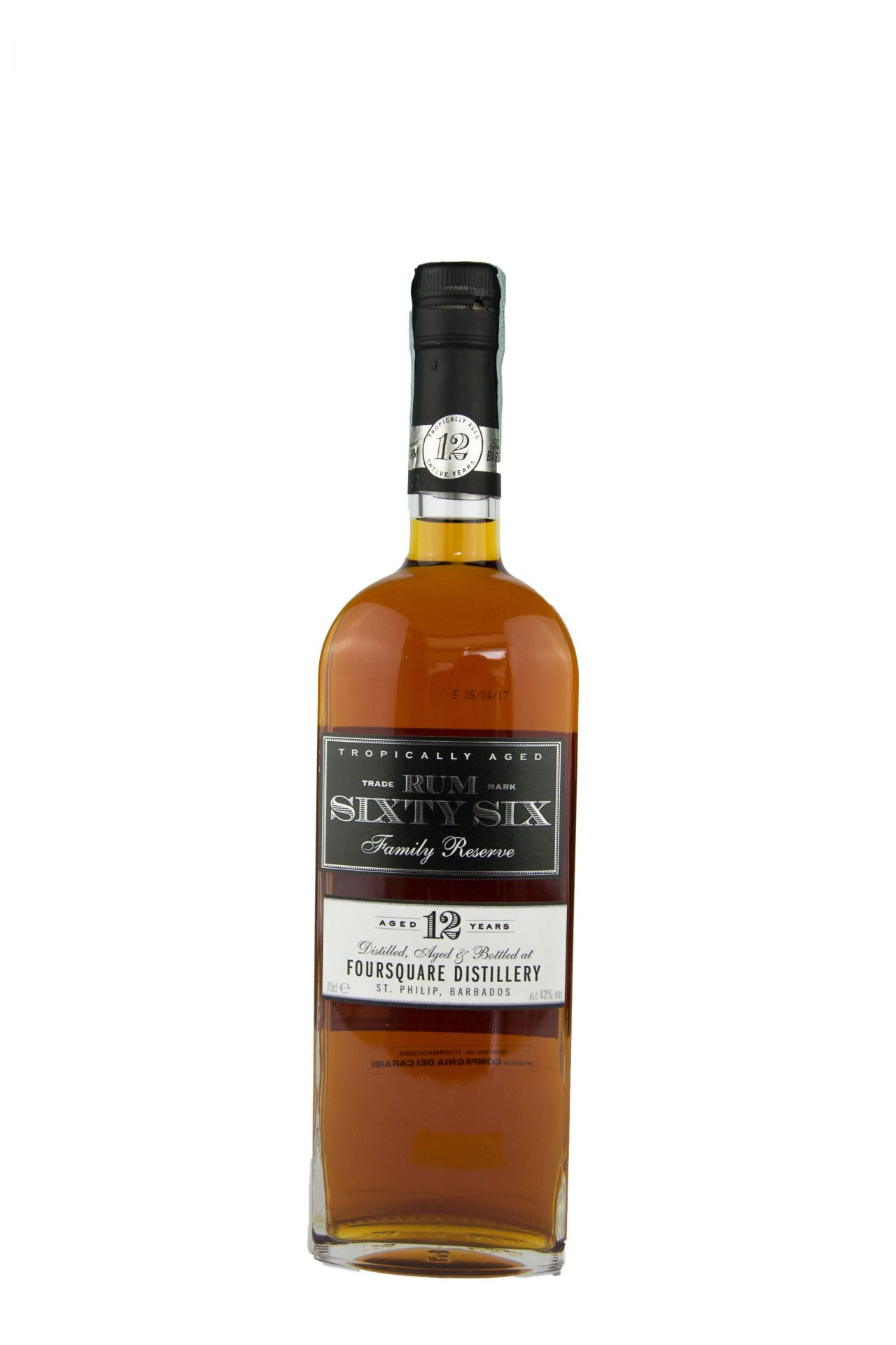 Rum Sixty Six – Family Reserve 12 Anni