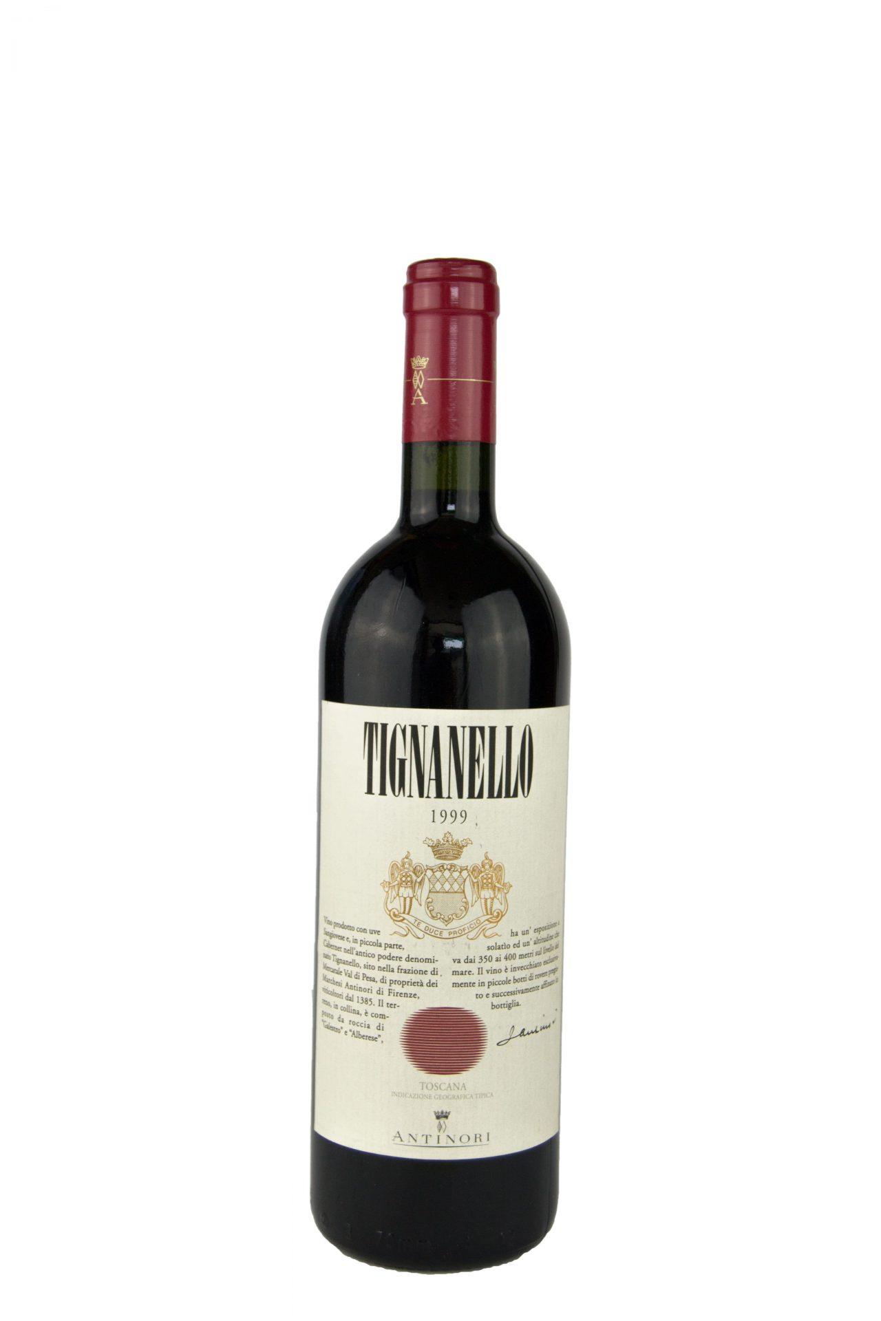 Antinori – Tignanello 1999