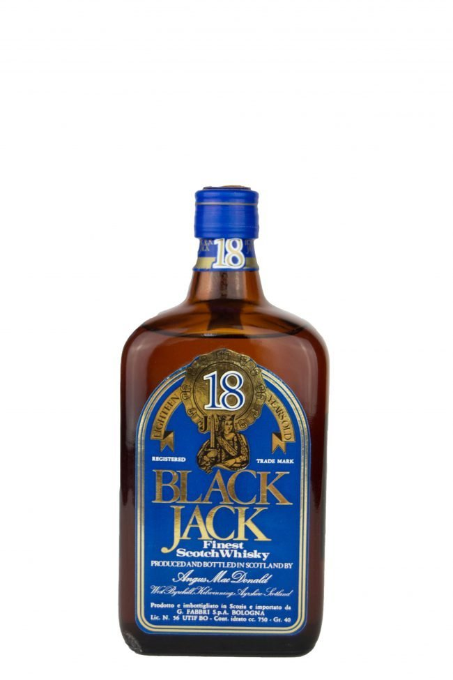 "Black Jack - Finest Scotch Whisky ""18 Anni"""