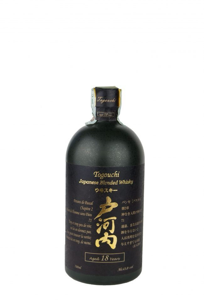 "Togouchi - Japanese Blended Whisky ""18 Anni"""