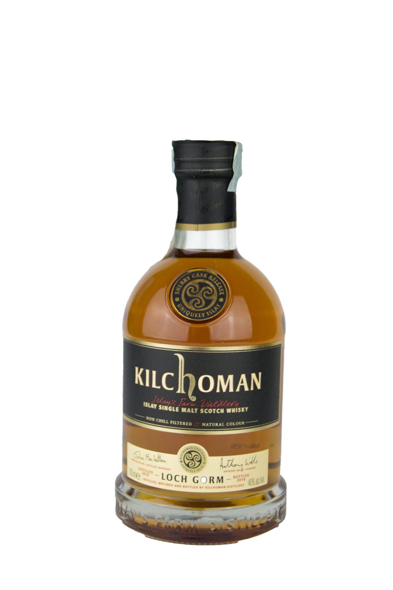 """Kilchoman – Islay Single Malt Scotch Whisky """"Loch Gorm"""""""