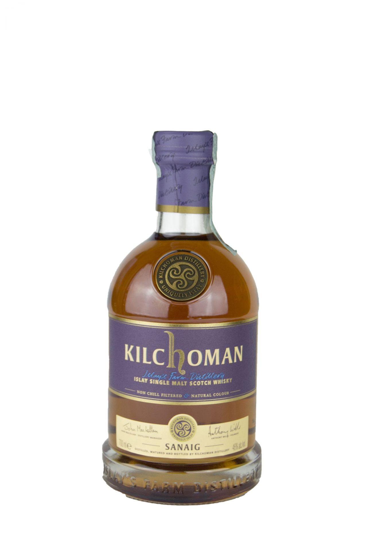 "Kilchoman – Islay Single Malt Scotch Whisky ""Sanaig"""