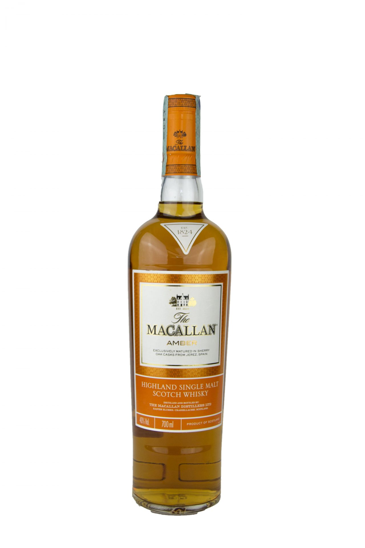 "The Macallan – Highland Single Malt Scotch Whisky ""Amber"""