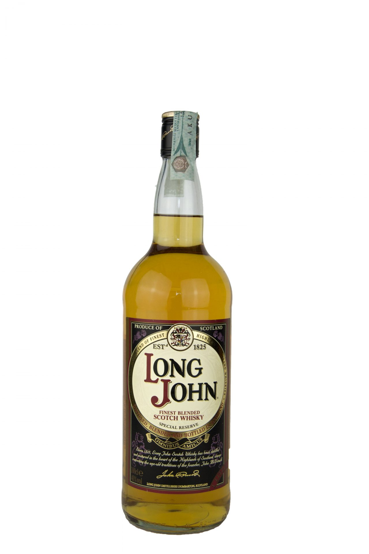 "Long John – Finest Blended Scotch Whisky ""Special Reserve"""