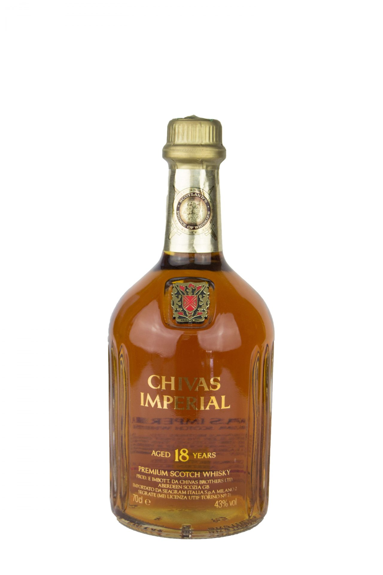 Chivas Imperial – Premium Scotch Whisky 18 Years Old