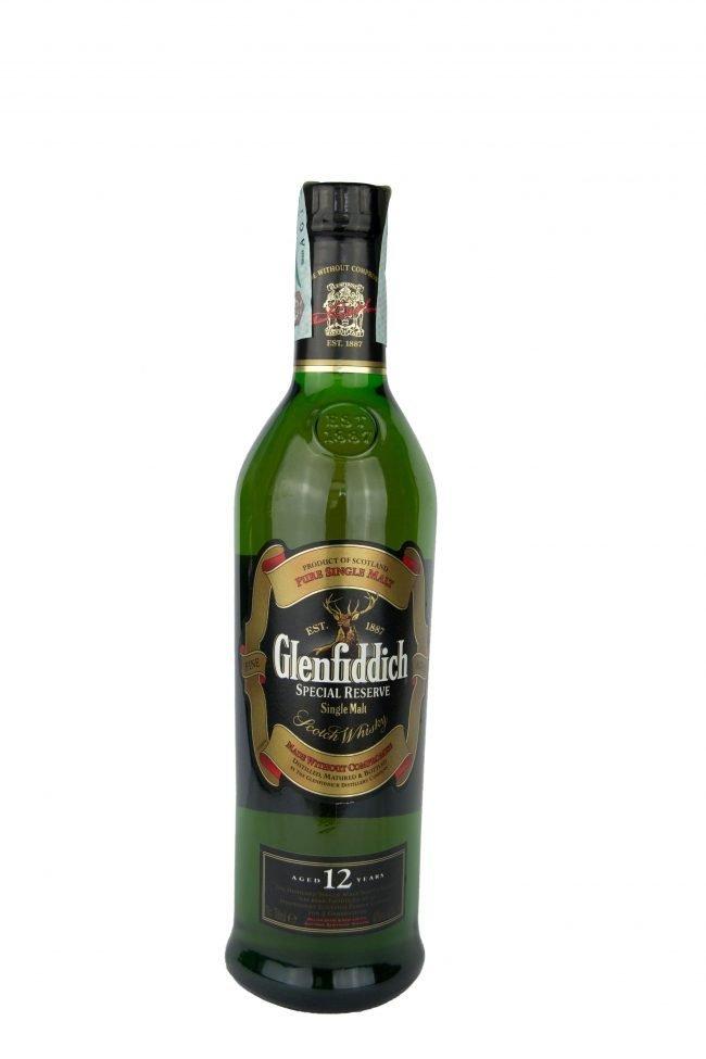 "Glenfiddich - Single Malt Scotch Whisky ""Solera Reserve"" 12 Years"