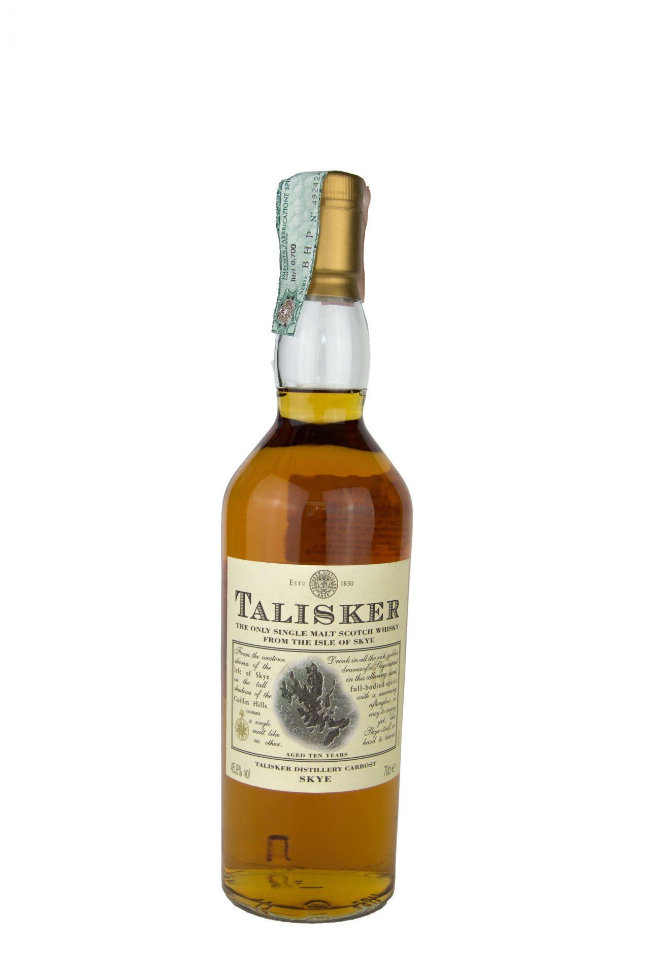 Talisker – Single Malt Scotch Whisky From The Isle Of Skye