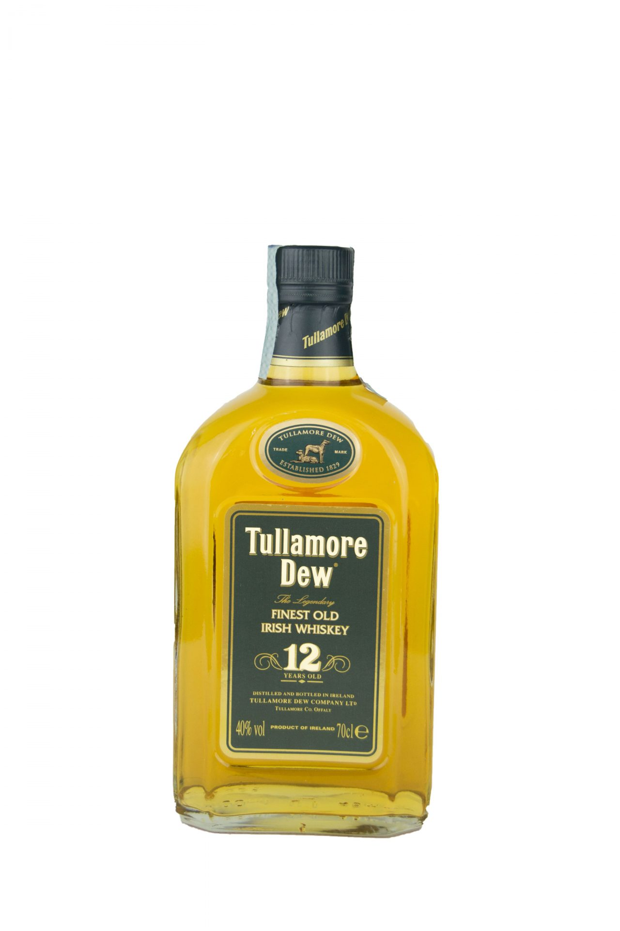 Tullamore Dew – Finest Old Irish Whisky 12 Years Old