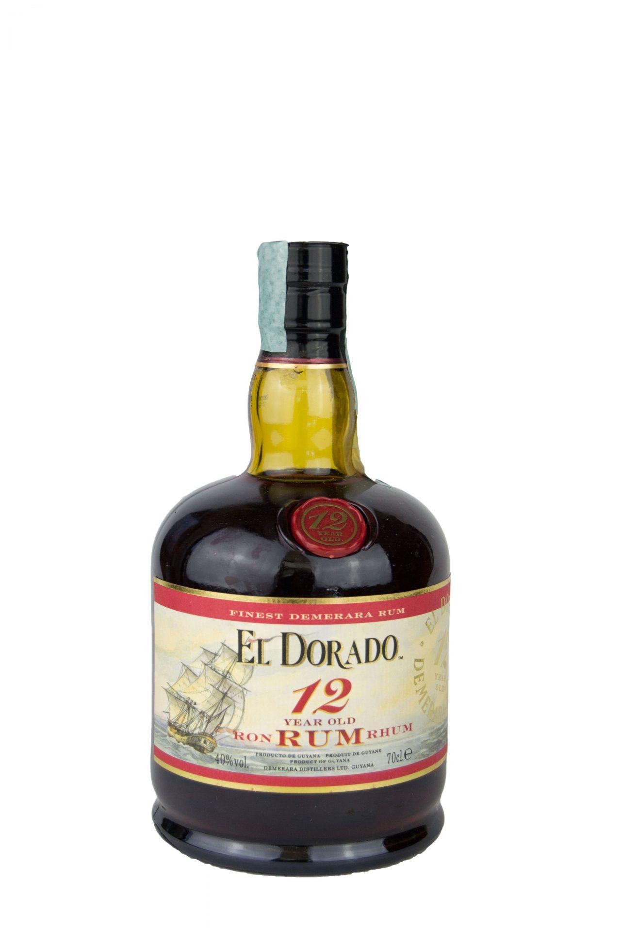 El Dorado – Finest Demerara Rum 12 Years Old