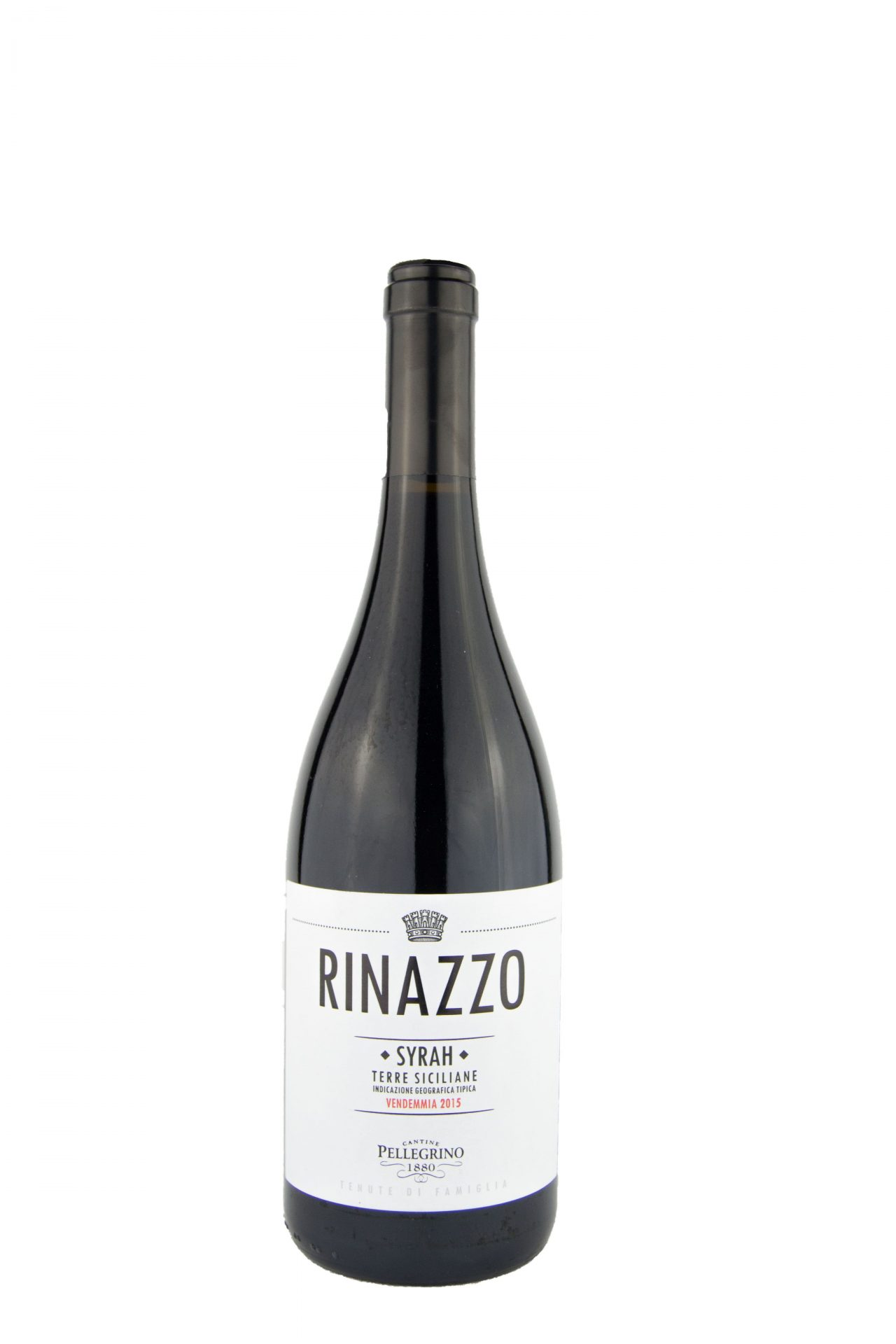 "Cantine Pellegrino – Rinazzo ""Syrah"" IGT Vendemia 2015"