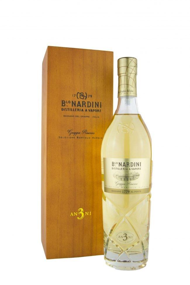 """Distilleria Nardini - Grappa """"Riserva 3 Anni"""""""