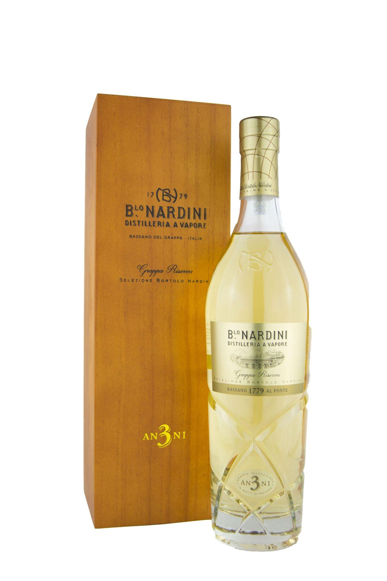 """Distilleria Nardini – Grappa """"Riserva 3 Anni"""""""