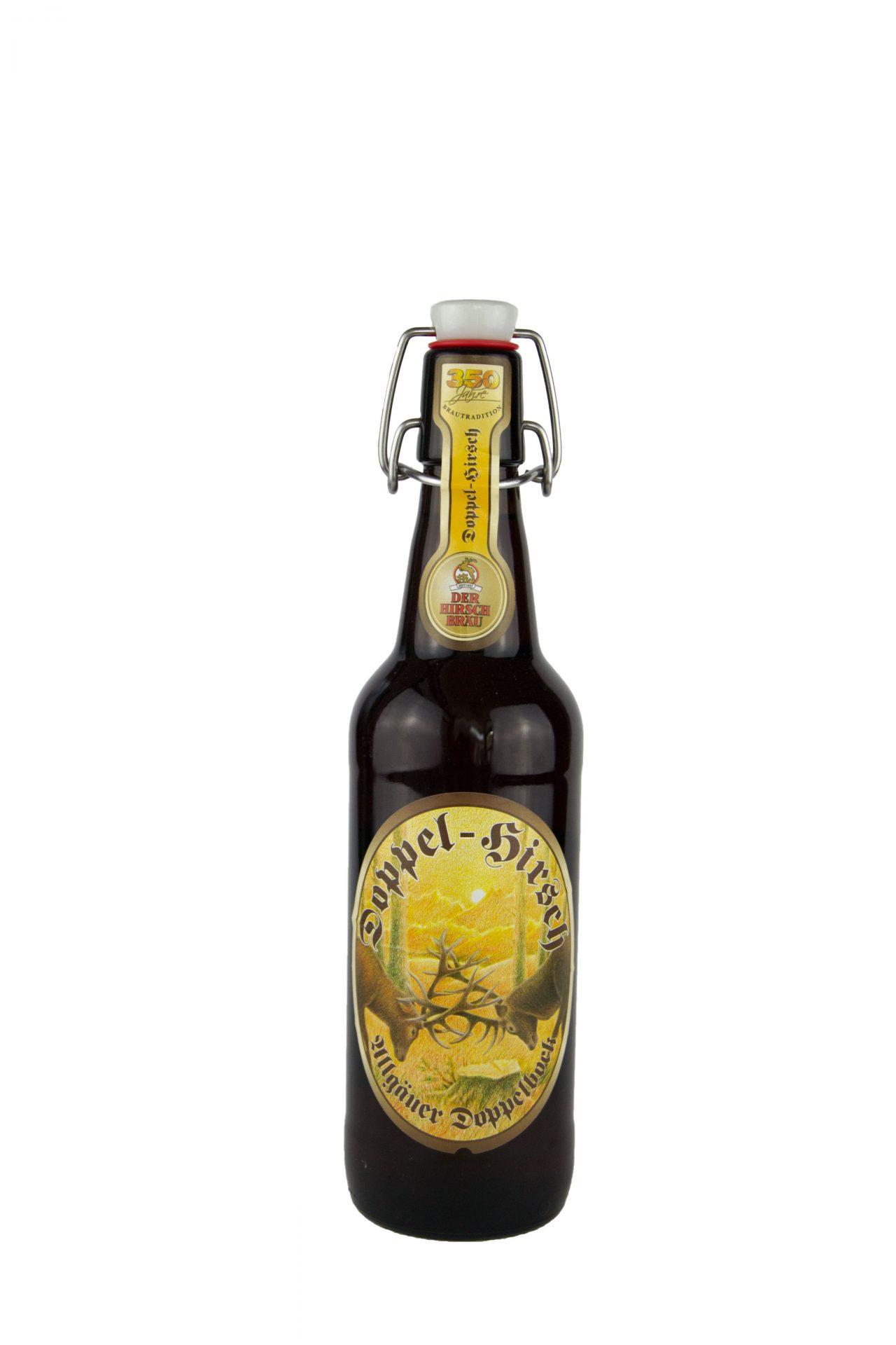 Höss Bier – Doppel-Hirsch