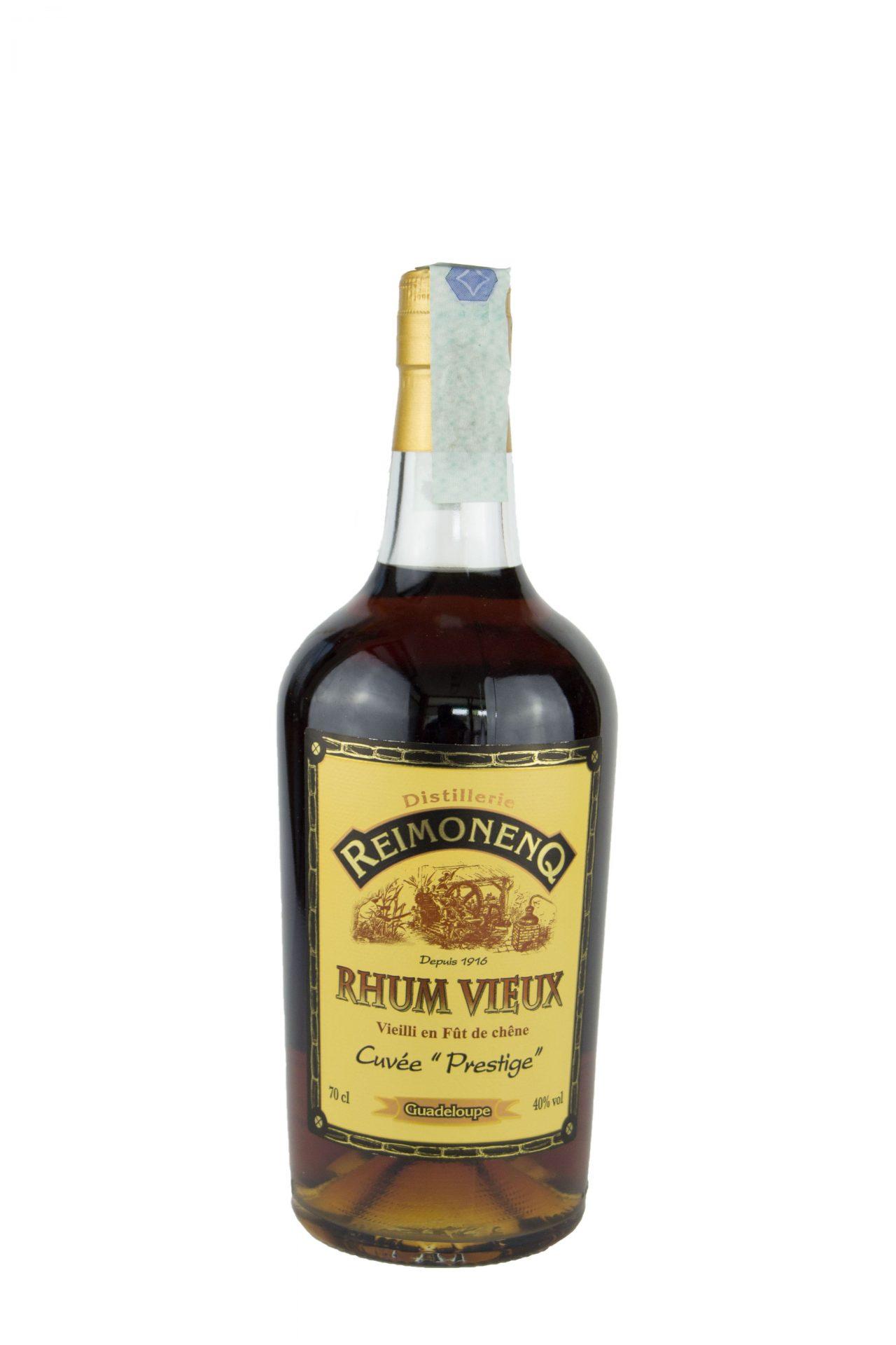 "Distillerie Reimonenq – Rhum Vieux Cuvée ""Prestige"""