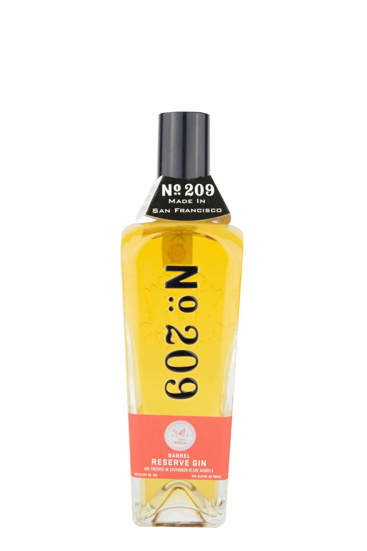 """N°209 – Barrel reserve Gin """"Sauvignon"""""""