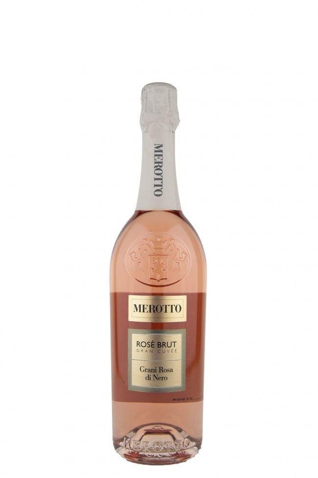 """Merotto - """"Grani Rosa di Nero"""" Rosé Brut Gran Cuvèe"""