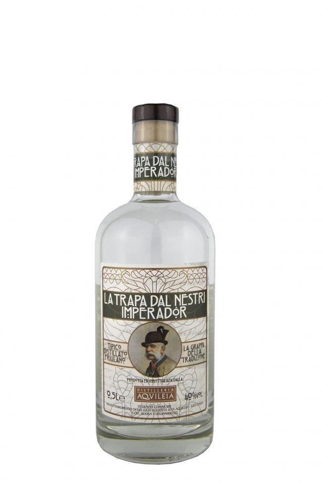 """Distilleria Aquileia - Grappa """"La Trapa Dal Nestri Imperador"""""""