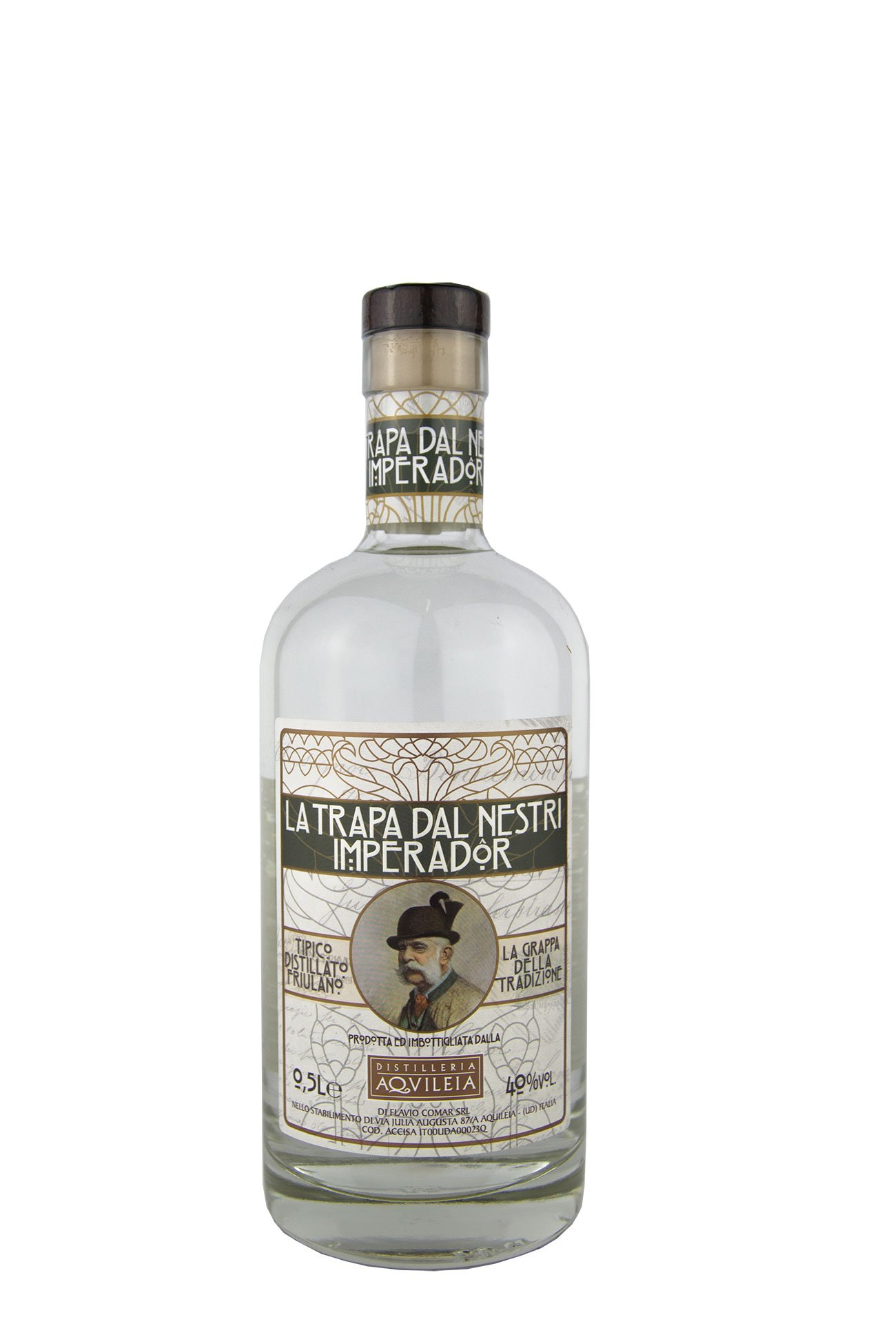 """Distilleria Aquileia – Grappa """"La Trapa Dal Nestri Imperador"""""""